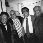 Clark Terry, Jimmy Owens, Billy Taylor, and Roy DeCarava © 2019 Stephanie Myers
