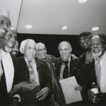 Reggie Workman, Eddie Locke, Eric Reed, Barry Harris, Jimmy Owens, Earl May, Leroy Williams, and Sir Roland Hanna New York, NY 2001 © 2019 Stephanie Myers