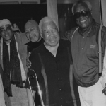Benny Golson, Jimmy Owens, Kenny Barron, Tom McIntosh, Richard Davis, Stefon Harris New York, NY 2003 © 2019 Stephanie Myers
